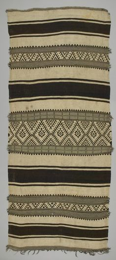 Rug Local Name: shadoui Place Made: Africa: North Africa, Morocco, High Atlas Mountains People: Berber, Ait Ouaouzguite tribe Period: Ea...