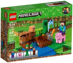 NEW LEGO Minecraft 21138 The Melon Farm Contains affiliate links. - Explore the best and the special ideas about Lego Minecraft Lego Minecraft, Cool Minecraft Houses, Minecraft Pixel Art, Minecraft Crafts, Minecraft Skins, Minecraft Stuff, Minecraft Buildings, The Farm, Shop Lego