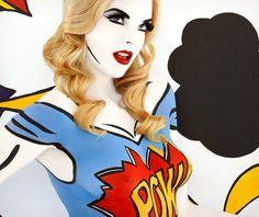 Emma Hack Pop! Body Art | Cool Material