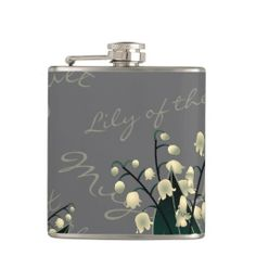 Lily of the Valley Flasks