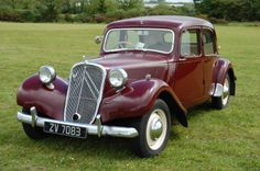 Citroen Traction Avant .... perhaps the most elegant car ever designed
