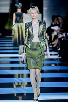 New York Fashion Search - Spring 2012 Couture, Greens -- New York Magazine