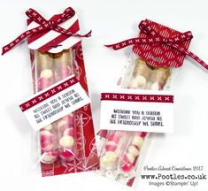 Stampin' Up! Demonstrator - Pootles Advent Countdown 2017 #9 Adorable Treat Tubes