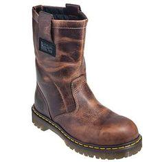 Dr. Martens Boots: Men's R10294220 Industrial Steel Toe EH Wellington Work Boots