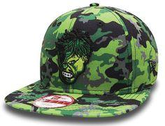 Hero Camo Hulk 9Fifty Snapback Cap by NEW ERA x MARVEL