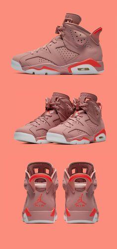 "16fffecee54d4c Aleali May x Nike Air Jordan 6 ""Millennial Pink"""