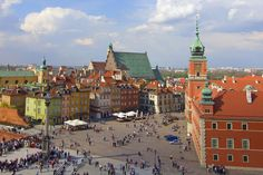 Insider's Guide to Warsaw Warsaw Hotel, Wall Street Journal, Eastern Europe, World War Ii, Old Town, Filmmaking, Paris Skyline, Brick, City