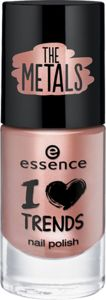 I love TRENDS nail polish the metals 33 rose beats - essence cosmetics