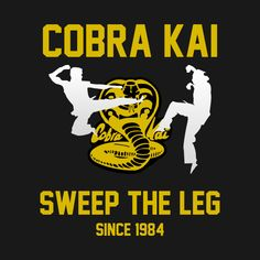 Cobra Kai T Shirt, Cobra Kai Dojo, Color Wars, 1984 Movie, Karate Kid Cobra Kai, About Time Movie, Movie Quotes, Cartoon Network, Icons