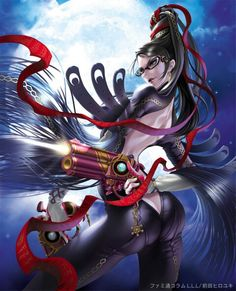 Bayonetta ~ This was a guilty pleasure game for me, plus it was tons of fun to play!