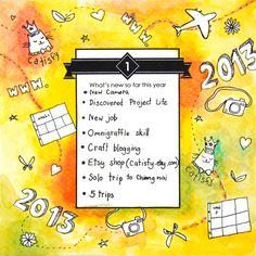 30 Days of Lists (September 2013) :  What's new so far this year?