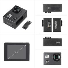 Only US$28.69, black SJ6000 Full HD Wifi 12MP 1080P 30FPS 140 Degree Wide Lens - Tomtop.com