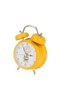 Charlie Brown Alarm Clock.