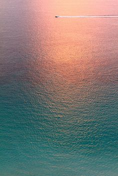 "♂ pink sunset reflect on blue water ""Still Water"" by Anastasia Novak"