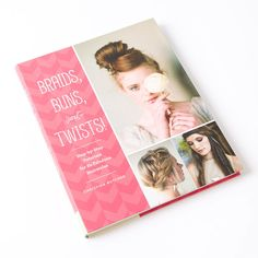 """Top knots, Heidi braids, French twists and more are featured in """"Braids, Buns, and Twists!"""" a step-by-step tutorial for 82 fabulous hairstyles. This book pulls together classic and contemporary styles. Trendsetters from teens to professionals will love mixing up the looks for parties, the office, a casual beach day, or an elegant night out. Simple how-to illustrations take the guesswork out of styling, while glossy fashion photographs demonstrate how to tailor and accessorize each '..."""