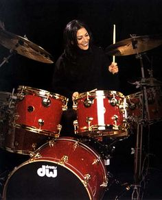 Most famous female drummer of all time? Sheila E.