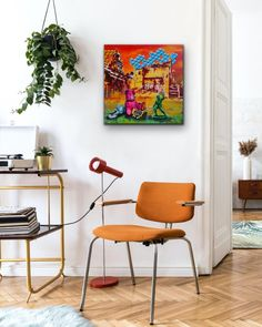 Fadiel Hermans: Lost & Found: fine art | StateoftheART Paintings For Sale, Original Paintings, Bright Paintings, Australian Artists, Affordable Art, Blue Walls, Acrylic Painting Canvas, Beautiful Artwork, Large Prints