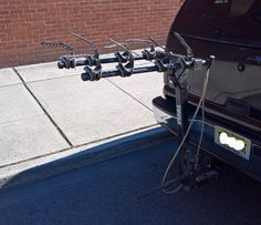 "THULE 4 Bike Hitch Bike Rack, Good Used Condition Car, Truck, Minivan or SUV 2""…"