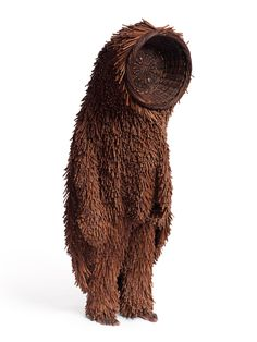 Nick Cave, Soundsuit, Textiles/sculpture. I like the use of the natural material and how it almost looks like fur.