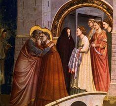 el blog del padre eduardo: El abrazo de san Joaquín y santa Ana