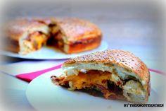 XXL Burger Amerikan Style - Thermosternchen kochen und backen mit Pampered Chef® Pampered Chef, Salmon Burgers, Bagel, Sandwiches, Ethnic Recipes, Food, Stoneware, Lovers, Thermomix
