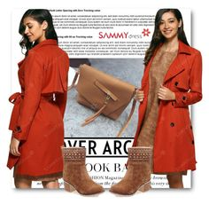 """""""Red and Brown"""" by belmina-v on Polyvore featuring moda"""
