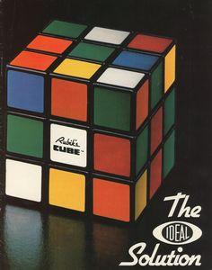 Bilderesultat for rubik's cube 1970