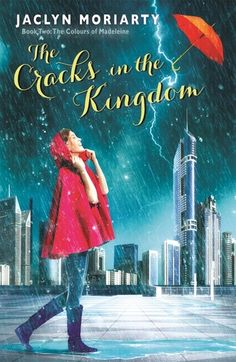 YA Book Review - The Cracks in the Kingdom by Jaclyn Moriarty - This book definitely could have been 150 pages shorter. I also found it a bit difficult to fully understand the science behind the cracks, and I hope this is explored further in the final book. Genres: Fantasy, Young Adult - click through to read more