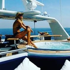 Loving life on my charter yacht! #spa #CALAF #yachtcharters #superyacht #charterworld