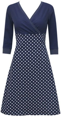 dots allover Kleid Nelly