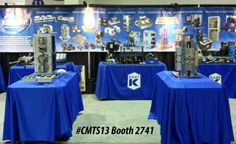 Canadian Machine Tool Show in Toronto, ONT, Canada Sept. 30-Oct. 3, 2013 - Booth #2741 - The show is being held at the International Centre in Mississauga, Ontario and is sponsored by the Society of Manufacturing Engineers