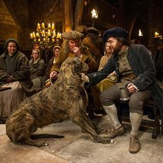 """Dogs are a highlander's best friend. #OutlanderSeries #STARZ"