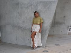 new spring products by Aylin Koenig - Aylin König Culotte Pants, Good Morning Love, Crop Shirt, Light Beige, Happy Mothers, Summer Looks, High Waist Jeans, Green Colors, Style Me