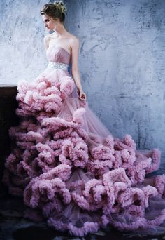 The Rose by Lelya Martian | Pink | For The Love Of Grace | Beautiful Dress | Style Inspiration | Editorial