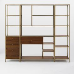 Nook Storage Set - Wide Storage + 1 Tower + 1 Cabinet Base Tower | west elm
