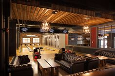modern bowling