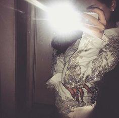 Rhinestone Applique on Mesh Amber Scholl DIY Kylie Jenner