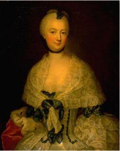 David and Rosina Matthieu (German, 18th Century). Portrait of a Lady, 1754. the University of Michigan Museum of Art, Michigan. Gift of Baroness Maud Ledyard von Ketteler, 1951. http://www.umma.umich.edu