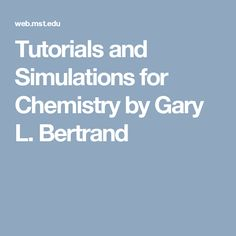 12 best virtual chemistry images on pinterest chemistry labs and tutorials and simulations for chemistry by gary l fandeluxe Image collections