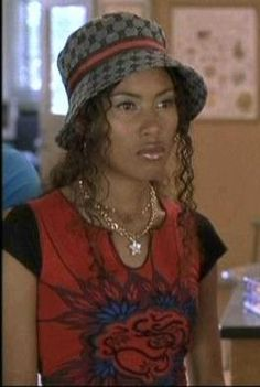 Black Cap sleeves, Maritza Murray in The Hot Chick 90s Teen Fashion, 2000s Fashion, New Fashion, Cute Casual Outfits, Cute Shirts, Bellisima, Aesthetic Clothes, Celebs, Sexy