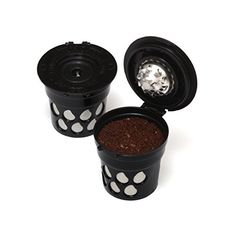 Reusable Coffee KCup Filters Set of 2  Use your Own Coffee in all Keurig 20 and Earlier Brewers *** You can get more details by clicking on the image.Note:It is affiliate link to Amazon.