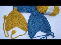 How to knit a baby hat Baby Hats Knitting, Crochet Baby Hats, Knitting For Kids, Crochet For Kids, Knit Crochet, Knitting Videos, Knitting Projects, Knitted Booties, Knitted Hats