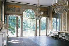 Gustav III's Pavilion at Haga Park, Sweden is one of the finest examples of a palace building from the late 1700s.