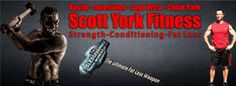 Scott York offers personal training, in home personal training, strength and conditioning in the Austin, Texas area. 30 years of experience and guaranteed results, Scott is a fat loss expert. Scott has been certified by NASM, ISSA and others. Scott is an author, speaker and is married with 4 kids.
