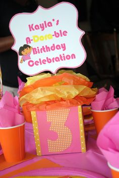 """A-Dora-ble Birthday Celebration"" 