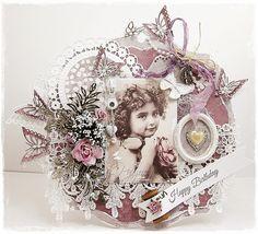 Live & Love Crafts' Inspiration and Challenge Blog: Vintage Rose