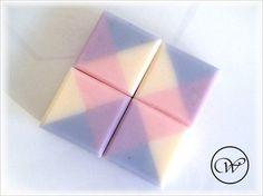 "Square Soap ""Provence"""