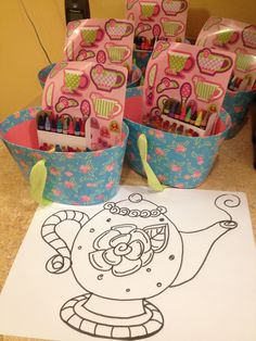 fun things for kids | Tea party crafts | Fun Stuff for Kids