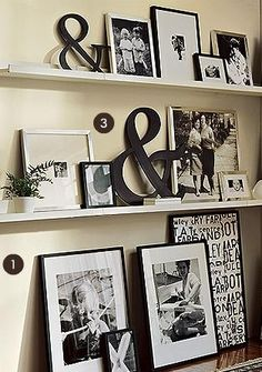 *LOVE- This would be super cute in an office or on a large open wall