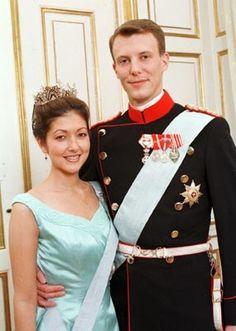 Princess Alexandra and Prince Joachim of Denmark.